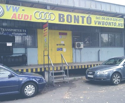 VW bontó / Audi bontó - www.vwbonto.hu